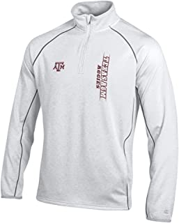 texas a&m quarter zip pullover