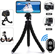 Phone Tripod, Flexible Tripod Stand 10.6