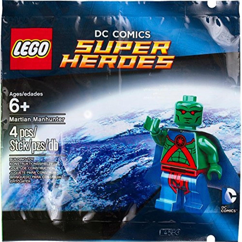 Lego Super Heroes Minifigure  Martian Manhunter 5002126