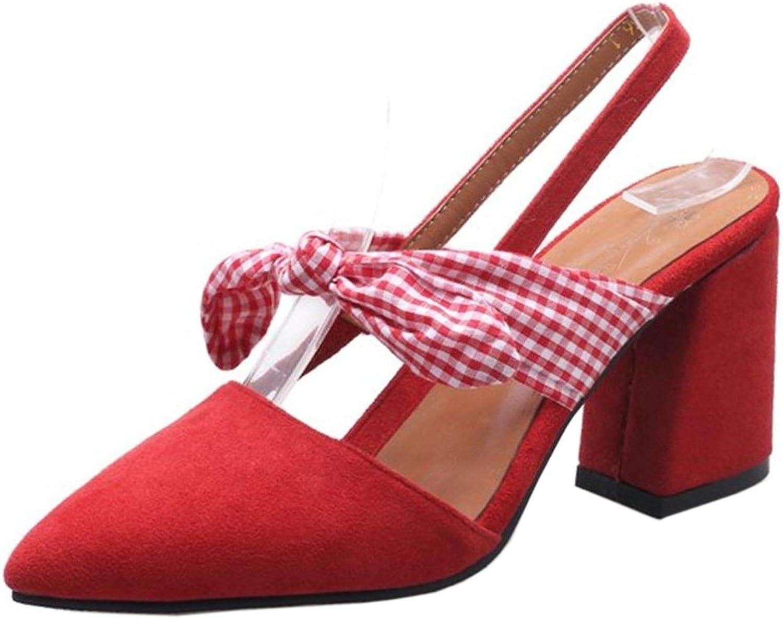 AicciAizzi Women Block Heel Sandals shoes Slingback
