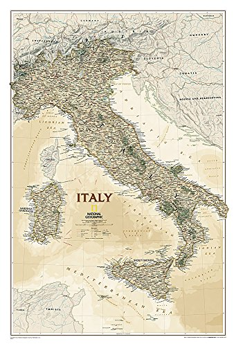 Italy Executive [Tubed] (National Geographic Reference Map)
