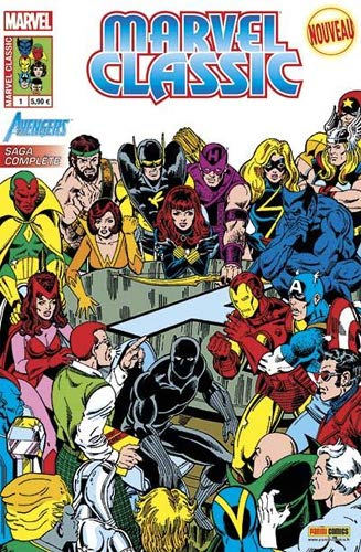 Marvel classic v2 01 : Avengers : Les nuits de Wundagore