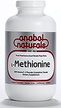 Anabol Naturals L-Methionine Free Form Pure Crystalline 100 Grams