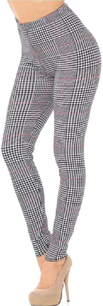 Marlex Essentials Ladies Super Buttery Soft Leggings (Regular and Plus Sizes)