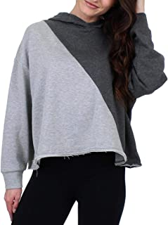 Womens Cropped Casual Hoodie