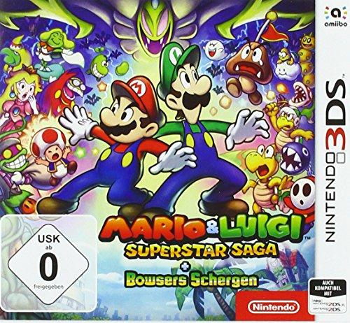 Mario & Luigi: Superstar Saga + Bowsers Schergen - Nintendo 3DS [Edizione: Germania]