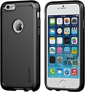 iPhone 6 Case, 6s Case LUVVITT [Ultra Armor] Shock Absorbing Case Best Heavy Duty Dual Layer Tough Cover for Apple iPhone ...