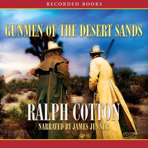 Gunmen of the Desert Sands  By  cover art