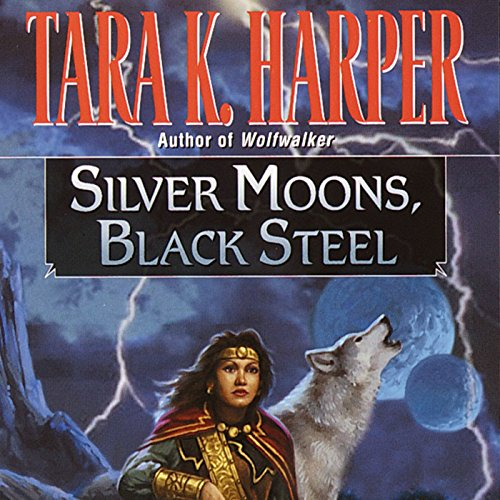 Silver Moons, Black Steel audiobook cover art