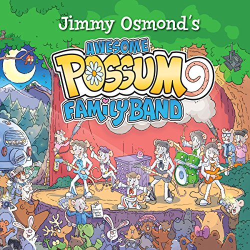 Awesome Possum Family Band audiobook cover art