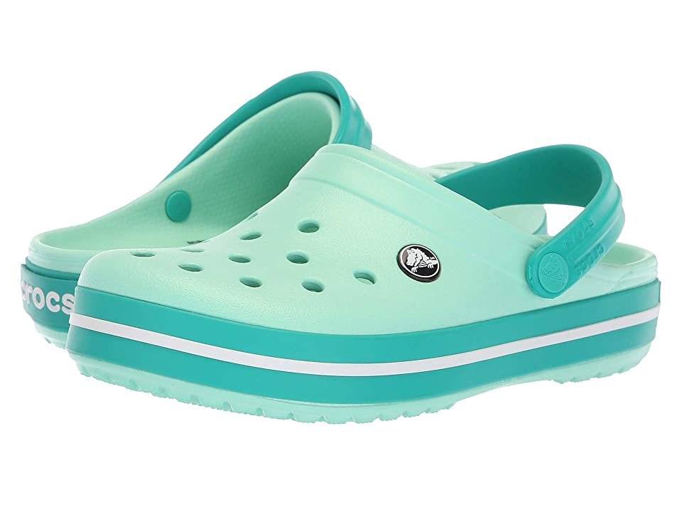 Crocs Crocband Clog (New Mint/Tropical Teal) Clog Shoes