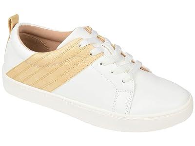 Journee Collection Comfort Foamtm Raaye Sneakers (Yellow) Women