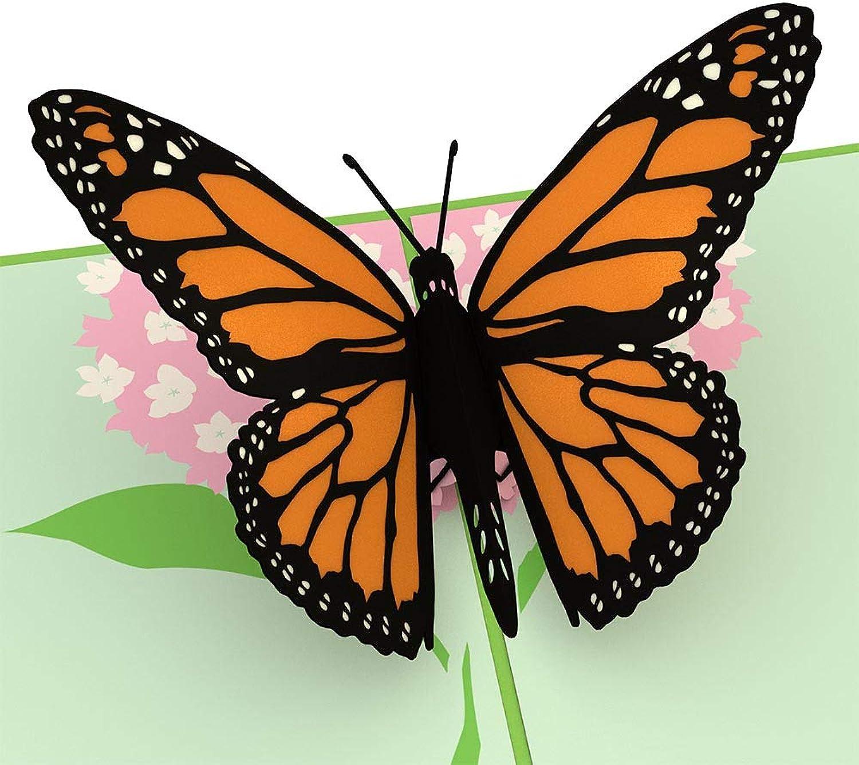 Lovepop Butterfly Pop Pop Pop Up Karte, 3D-Karte, Geburtstagskarte, Sommer, Frühling Card B07BMBTR5H   Adoptieren  96a96d
