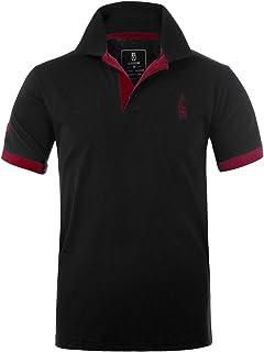 ea8f2ec00c GLESTORE Polo Homme Sport Uni T-Shirt MT1030 Tennis Golf M L XL XXL