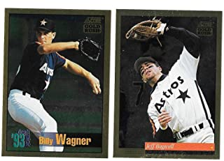 1994 Score Gold Rush - HOUSTON ASTROS Team Set