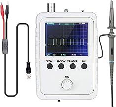 """Romacci Kit de osciloscópio digital TFT de 2,4""""com adaptador de alimentação e sonda de cabo BNC-Clip DS0150 (máquina acaba..."""
