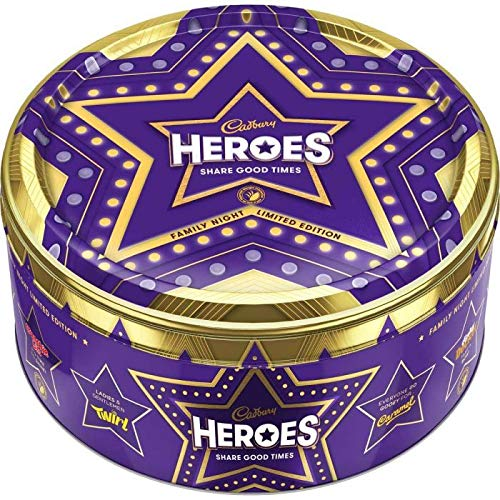 Cadbury Heroes Chocolate Tub, 800 g