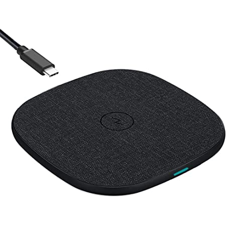UNIGEN UNIPAD Wireless Charger Pad | 15W Type-C PD | Qi Certified | for i-Phone 13/12/11/XS/X/8/SE, Galaxy S20+/Note10/Note10+/S10/S10Plus/S10E/Note9/S9, One-Plus 9 Pro
