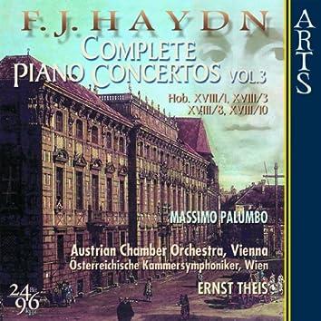 F. J. Haydn - Complete Piano Concertos, Vol. 3