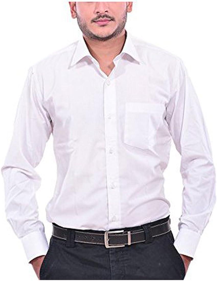 Royal Kurta Men's Formal Shirt & Formal Tie