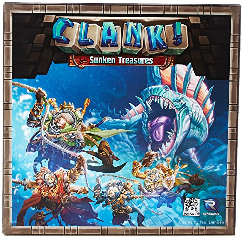 Renegade Game Studios RGS00569 Brettspiel Clank: Sunken Treasures