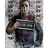 DIY Pintar por números Halloween Horror Hell Warrior Arte criminal Película de terror pintar por numeros para ninos arte digital Adecuado para la decoración de la sala de esta50x70cm(Sin marco)