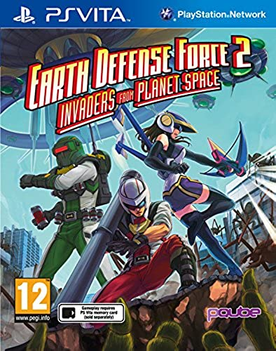 Psvt Earth Defence Force 2  Invaders from Planet Space (Eu)