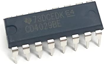 Juried Engineering CD4029BE CD4029 CMOS Presettable Up/Down Counter IC Breadboard-Friendly DIP-16 (Pack of 10)