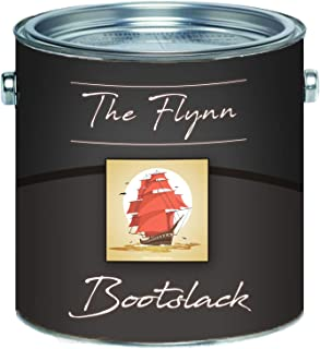 The Flynn Bootslack hochwertiger Yachtlack Bootsfarbe Yachtfarbe Pakett-LackSchiffslackierung abriebfeste, seewasserfeste und extrem wetterfeste Schiffslackierung 2,5 L, Himmelblau RAL 5015
