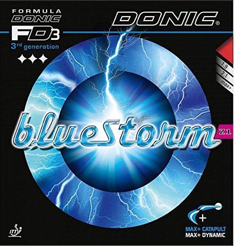 Donic BlueStorm Z1, 2.1mm Black, Table Tennis Rubber