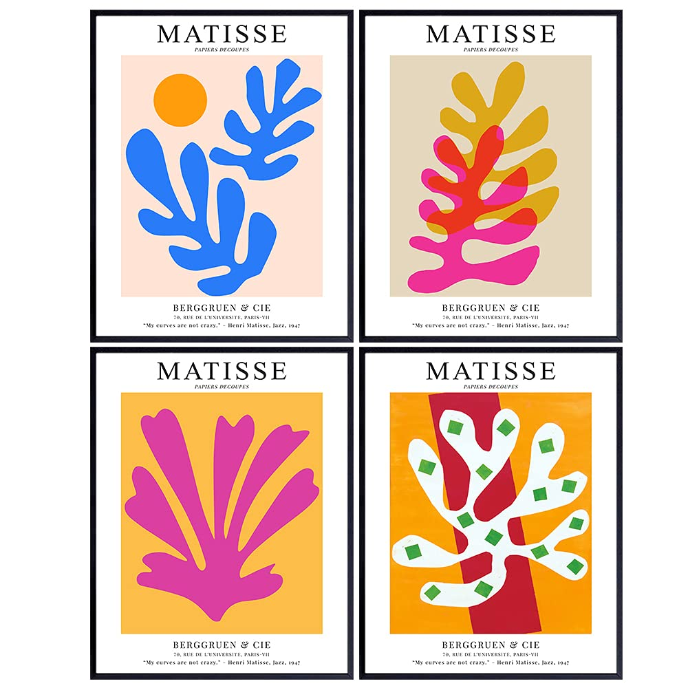 LARGE 11x14 Rare Large discharge sale - Matisse Wall Art Minimalist Wal Poster