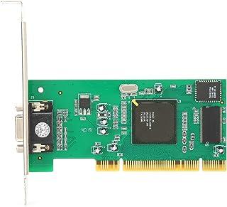 増設インターフェースボード VGA PCI 8MB 32ビット グラフィックカード 拡張カード PCIeホストアダプタカード マルチディスプレイ デスクトップコンピュータアクセサリ ATI Rage XL用