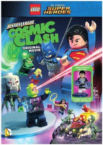 LEGO DC Comics Super Heroes: Justice League: Cosmic Clash (DVD) (w/Figurine)