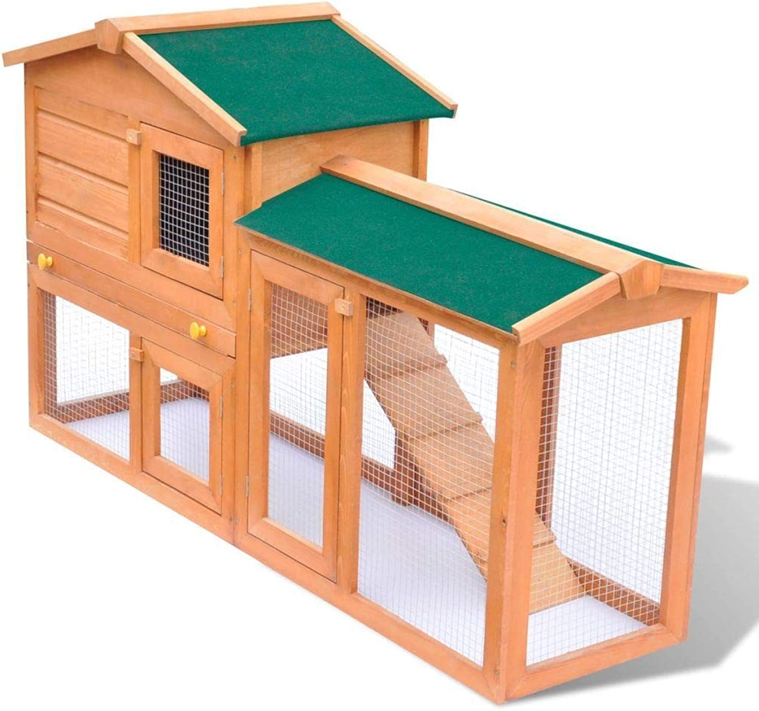 Generic  bit Hutch Hutch Small abbit Animal House Small Carrier Coop Wood al House Pet C Outdoor Large Rabbit Carri Pet Cage