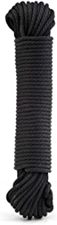"""Rope Ratchet 1/8"""", 50 ft Solid Braided Polypropylene Rope, Heavy Duty, All Purpose, Utility Cord Tie Down Rope for Camping..."""
