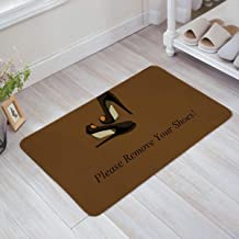 ZMvise Rubber Please Remove Your Shoes Doormats Entrance Floor Door Rug Indoor Outdoor Front Bathroom Mats Rubber Non Slip...