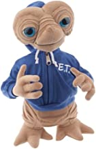 Universal E.T. Extra Terrestrial with Blue Embossed Hoodie Sweatshirt 15
