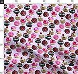 Cupcake, Essen, Zuckerguss, Kirsche, Kuchen, Geburtstag,