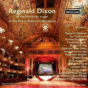 Reginald Dixon at the Wurlitzer Organ of the Tower Ballroom, Blackpool