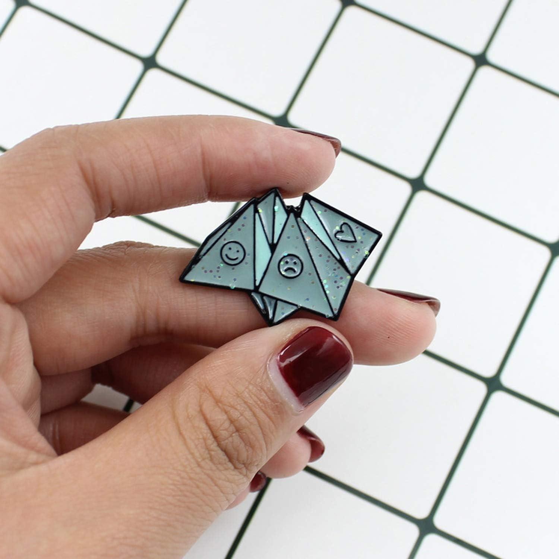Buy bling bling store Fortune Teller Enamel Pin Origami Art Pins ...