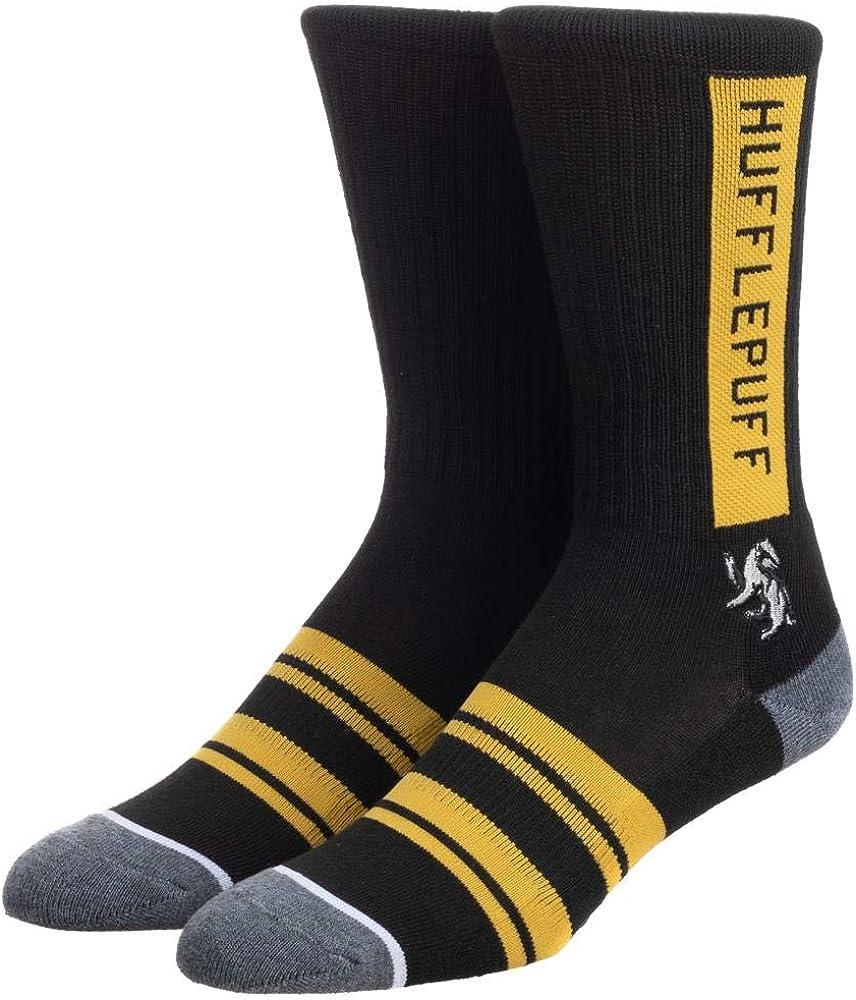 Mens Hufflepuff Hogwarts House Crew Socks
