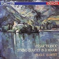 Cesar Franck String Quartet in D Major; Prague Quartet (1986-05-03)
