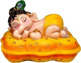 Krishna Culture Cute Baby Ganesh Napping 4