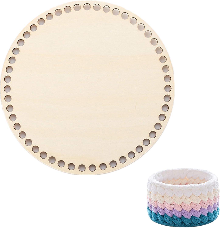 Coopay Natural Wooden Basket Popular product Bottom Crochet Making for Manufacturer direct delivery Knitting