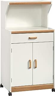 Sauder Universal Oven Cart, Soft White finish