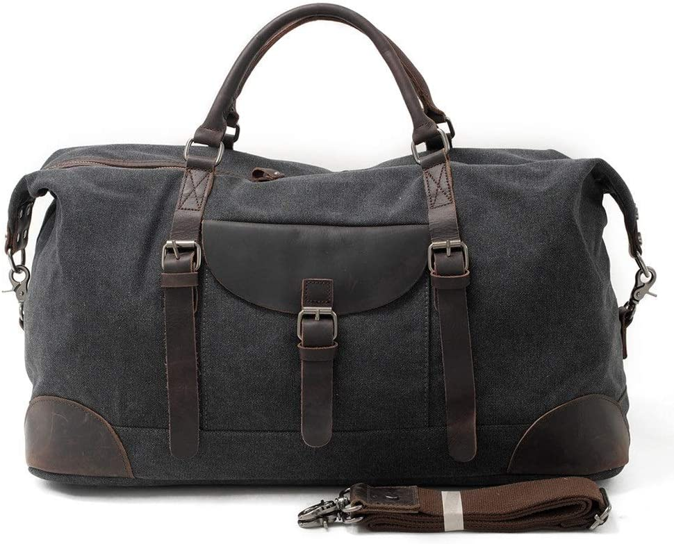 Free shipping YonCog Weekly update Travel Duffel Bag for Canvas Oversized Tote Men Ha