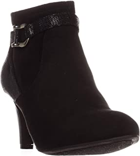Karen Scott Womens Maxinee Faux Suede Ankle Booties