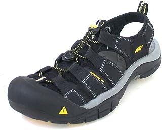 KEEN Australia Men's Newport H2 Trekking Sandal, Raven/Aluminum