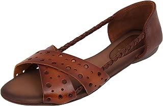 Catwalk Tan Flat Slip On