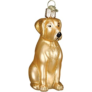 Old World Christmas Ornaments Golden Retriever Dog Collection Glass Blown Ornaments for Christmas Tree